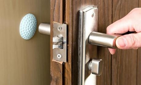 Set di 2 o 4 cuscinetti per protezione pareti, maniglie e serrature
