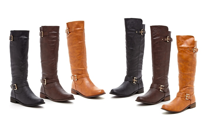 Bucco Riding Boots | Groupon Goods