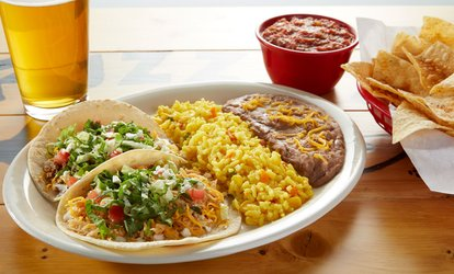 image for Baja-Style Mexican Food at Fuzzy's Taco Shop - Las Vegas (Up to 33% Off)