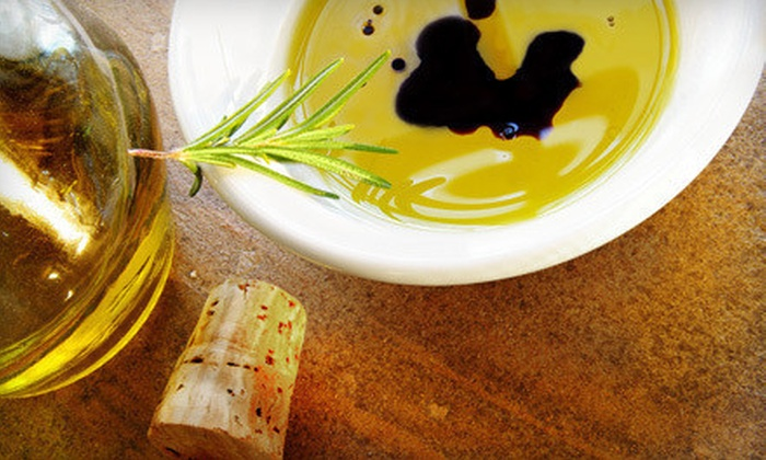 The Virgin Olive Oiler - Overton South: $10 for $20 Worth of Olive Oils and Balsamic Vinegar or Private Olive-Oil Tasting for Up to 10 at The Virgin Olive Oiler