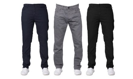 Eto Jeans Mens Tapered Jeans