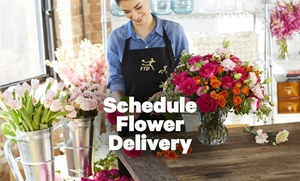 Flower Delivery through Groupon