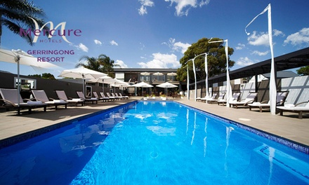 Gerringong: Up to 3-Night Coastal Break for Two with Bottle of Wine and Late Check-Out at Mercure Resort Gerringong