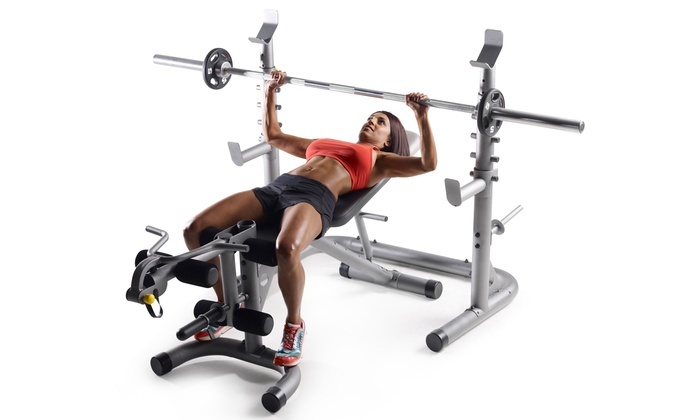 Golds Gym Olympic Weight Bench Prince Furniture