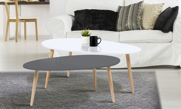 tables gigognes scandinaves groupon shopping. Black Bedroom Furniture Sets. Home Design Ideas