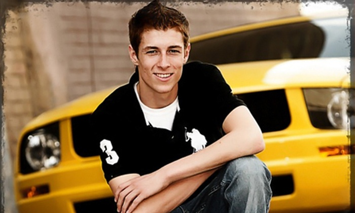 Christopher Clark Designer Portraits - Downtown Wichita: Photo Shoot for a High-School Senior or Family with Prints from Christopher Clark Designer Portraits (Up to 92% Off)