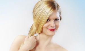 Izabel George Hair Salon: Up to 51% Off Keratin Treatment or Haircut Package  at Izabel George Hair Salon