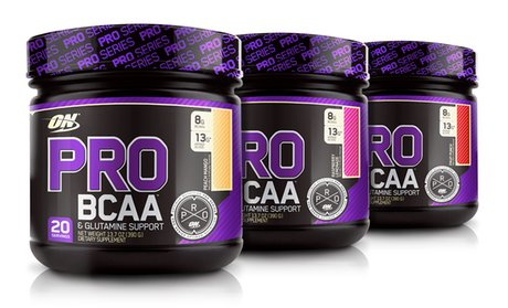 Optimum Nutrition Pro BCAA Supplement (20 Servings)