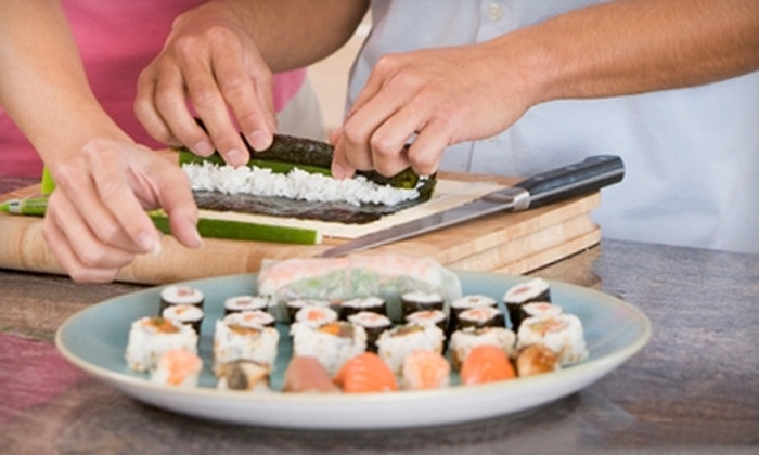 Madame Saito - Center City East: Three-Hour Sushi-Making Class for One or Two from Madame Saito (Up to 58% Off)