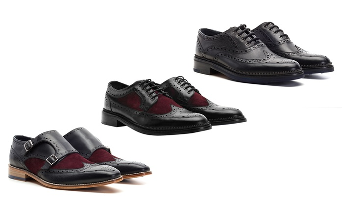 GoodwinSmith Handgefertigte Herrenschuhe Rishton Monk, Pendle Brogue oder Oxford Brogue