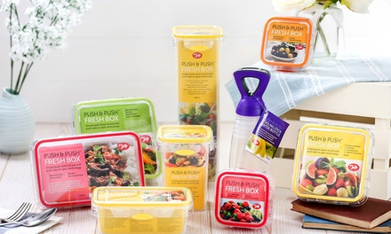Tala Four PushandPush Food Storage Containers