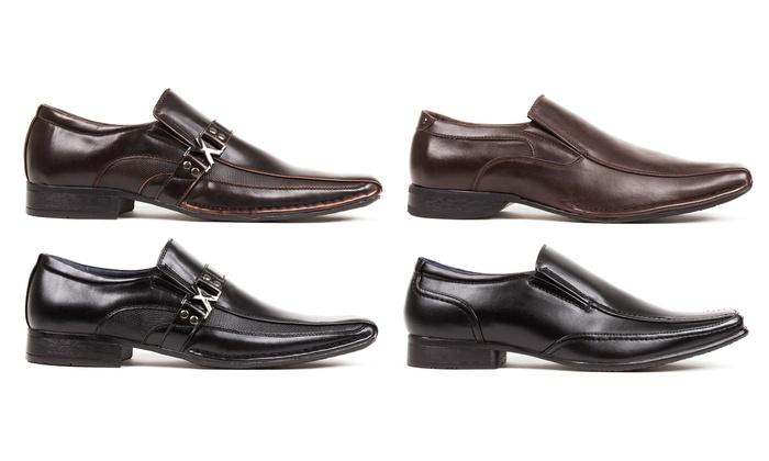 Bonafini Men's Slip-On Dress Shoes