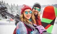 1 día de alquiler de equipo de esquí o snowboard para 1 o 2 personas desde 13,90 € en Alquiler Brañavieja