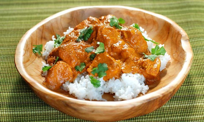 Paradise Takeaway - Loughborough: Three-Course Indian Takeaway Meal for Up to Four (Up to 45% off)