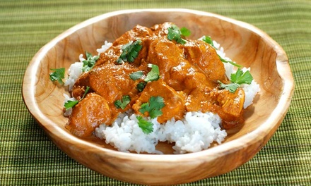 Three-Course Indian Takeaway Meal for Up to Four (Up to 45% off)