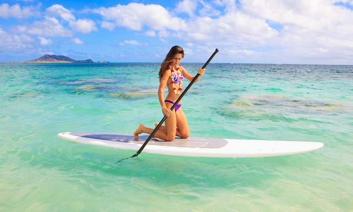 Miami Watersports LLC - Miami Beach Marina: One- or Two-Hour Paddleboard Rental with Instruction from Miami Beach Paddleboard (Up to 67% Off)