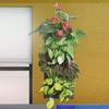 Hanging 4-Pocket Wall Planter