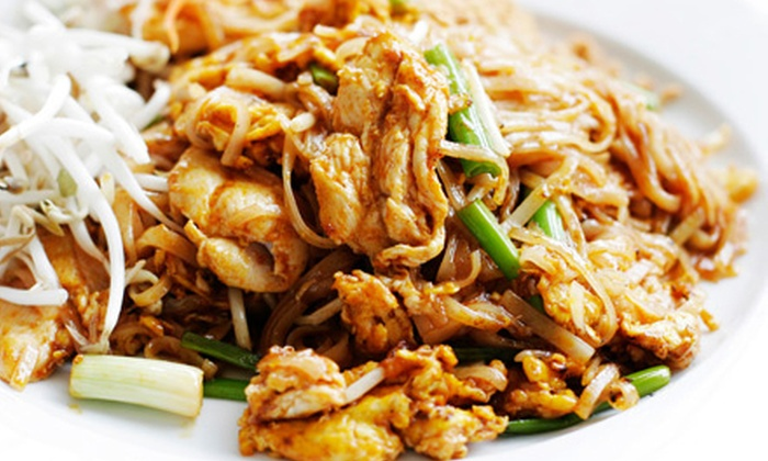 Jinx Kitchen + Lounge - Pearl: $10 for $20 Worth of Thai Food and Drinks at Jinx Kitchen + Lounge