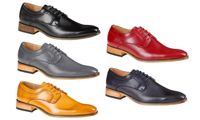 a7e961eb6bb Up To 50% Off on Signature Men's Dress Shoes | Groupon Goods