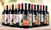 74% Off 15 Bottles of International Red Blends