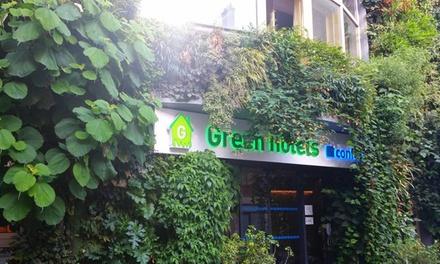 París: estancia en habitación doble para 2 personas con desayuno y sauna en Green Hotel Paris