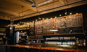 Up to 40% Off Brewery Tour at Wolverine State Brewing Company at Wolverine State Brewing Company, plus 6.0% Cash Back from Ebates.