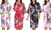 Bata estilo kimono para mujer
