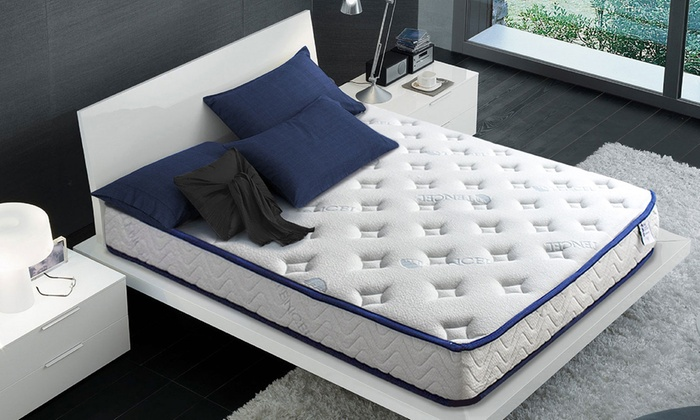 matelas m moire de forme avec gel frais groupon shopping. Black Bedroom Furniture Sets. Home Design Ideas