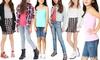 Girls' Classic Stretch Cotton-Blend Cami: Girls' Classic Stretch Cotton-Blend Cami
