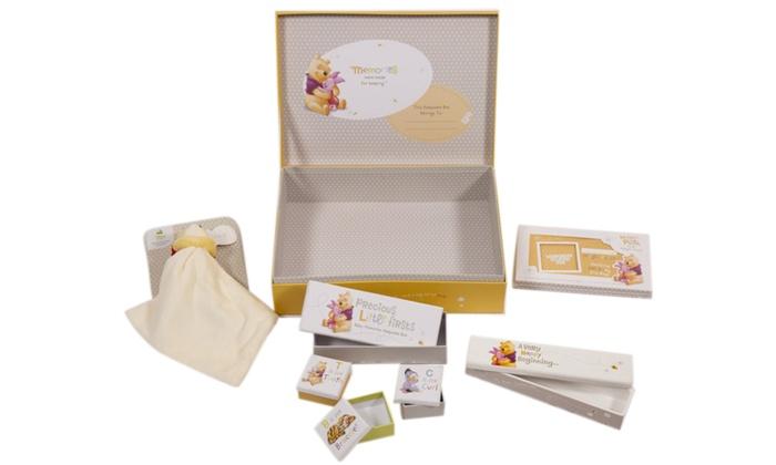 Groupon Goods Global GmbH: HallmarkWinnie The Pooh Baby Keepsake Bundle