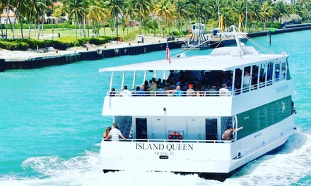 90-Minute Star Island Boat Tour for One, Two, or Four from VIP Miami Tours (Up to 17% Off)