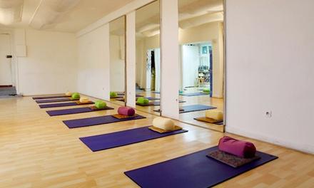 5 cours dHatha Yoga d1h30 chacun à 39 € à lAtelier 115