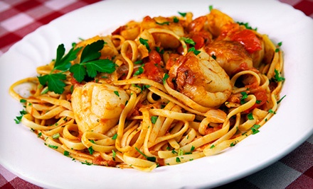 Italian Cuisine and Drinks at Spaghetti Bender (Half Off). Two Options Available.