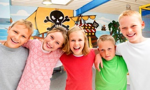 IZ4Kids Piratenland: Eintritt für Erwachsene und Kinder in das IZ4Kids Piratenland inkl. Wertchips (bis zu 52% sparen*)
