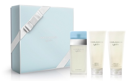 Dolce & Gabbana Light Blue EDT 100ml Spray for Women (£49.99) or Gift Set (£51.98) With Free Delivery (Up to 20% Off)