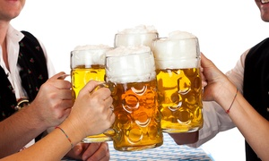 Bristol Bierkeller: Saturday Night Entrance and Litre Stein at Bristol Bierkeller (54% Off)