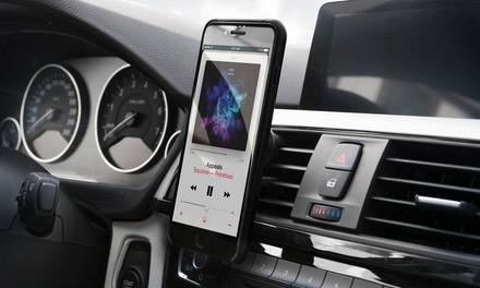 Support voiture magnétique 360° Sinji, compatible tous iPhone/ Smartphones, fixation à ventilation