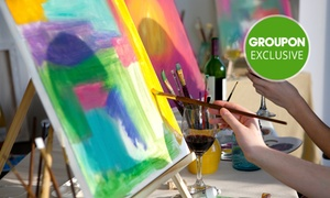 Taste for Colour: 2-Hr Social Painting Class + Drink for 1 ($35), 2 ($69) or 10 Ppl ($330) at Taste for Colour (Up to $500 Value)