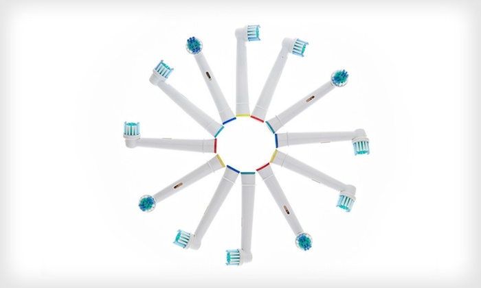 12-Pack of Replacement Toothbrush Heads: $12 for an Oral-B 12-Pack of Replacement Toothbrush Heads ($60 List Price). Free Returns.