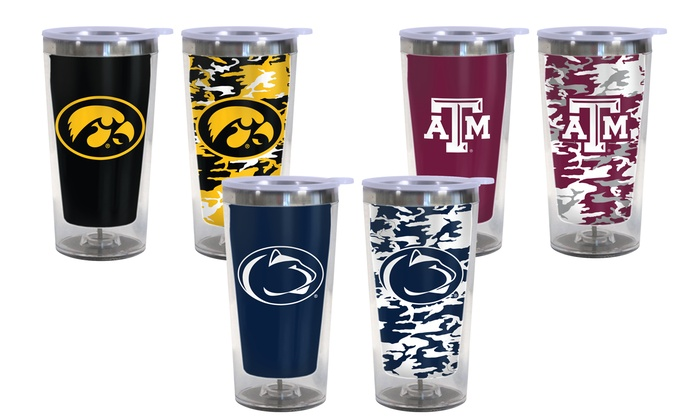 NCAA Color-Changing Travel Tumbler