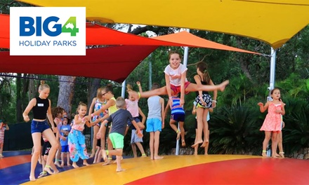 Port Stephens: 2 or 3 Nights for Up to Four People with Wine & 1hour equipment hire at BIG4 Koala Shores Holiday Park