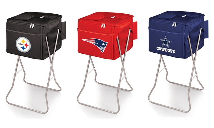 NFL Party Cube Insulated Party Cooler with Stand