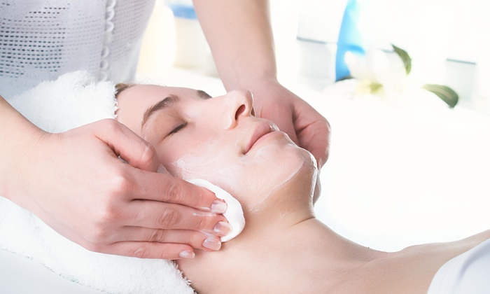 Perfect Ten Salon and Spa - Multiple Locations: Two 30-Minute Spa Package with Facials at Perfect Ten Salon and Spa (50% Off)