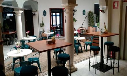 Tapas y bebida desde 6,95 € en Doble de Cepa