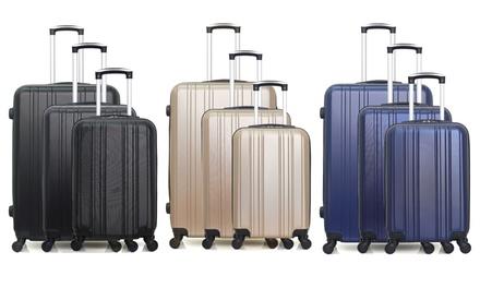 Set di 3 valigie Hero in ABS