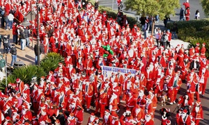 The 2015 San Francisco Great Santa Run: Registration for One or Two to the The San Francisco Great Santa Run and Rudolph 1 Miler (Up to 24% Off)
