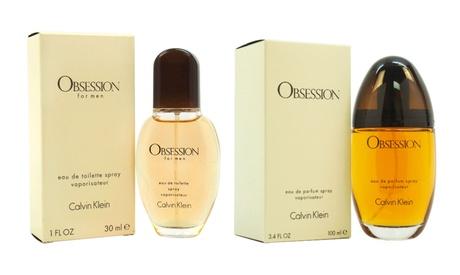 Calvin Klein Obsession Fragrances for Women and Men