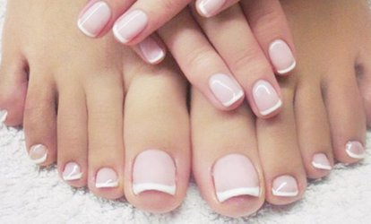 image for Manicure with Optional Pedicure at ML Beauty (Up to 65% Off)