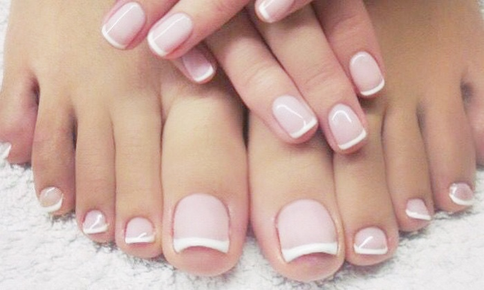 ML Beauty - Madia Vale: Manicure with Optional Pedicure at ML Beauty (Up to 65% Off)