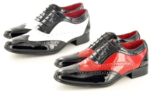 Derbies style gatsby pour Homme